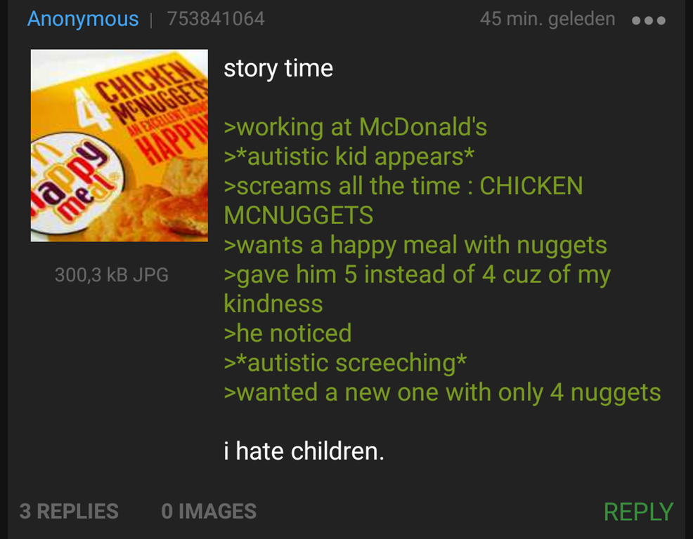 Anon helps an autistic kid