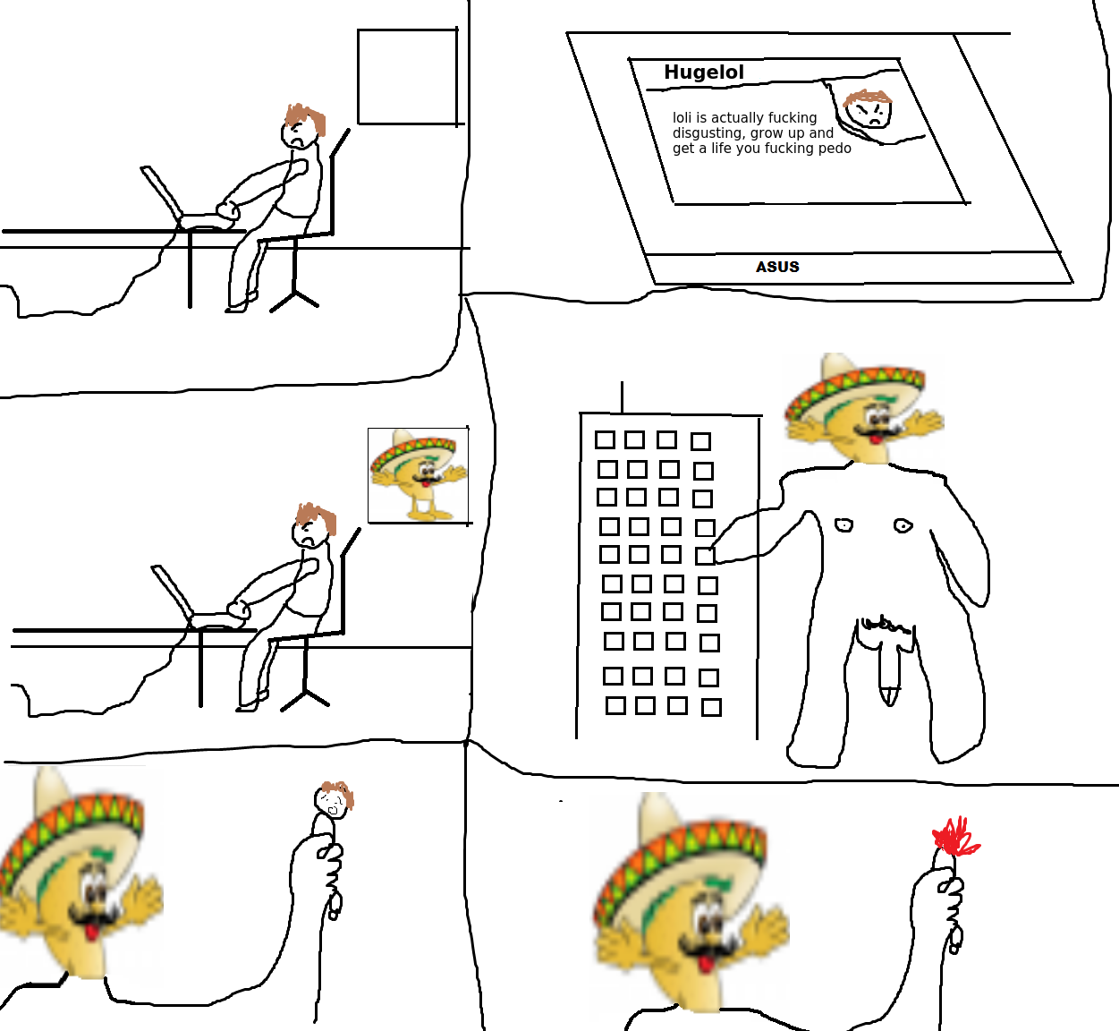 talk shit taco will find you