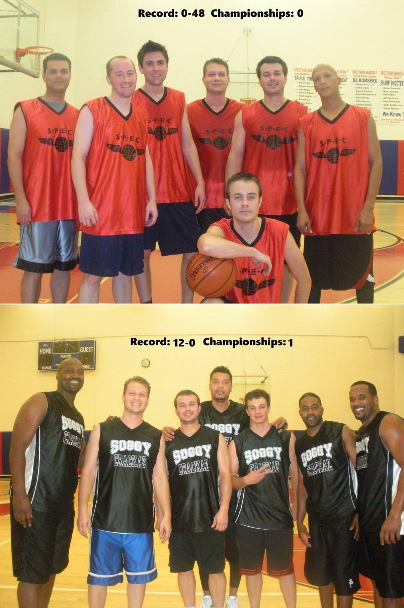 After 4 straight winless seasons my basketball team finally won the championship. THIS is what hard work and practice looks like.