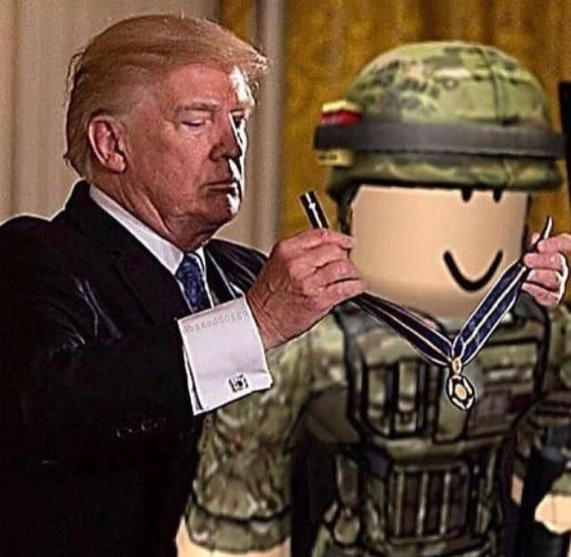 A real president supporting our troops
