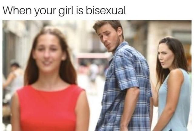 When your girl is bisexual