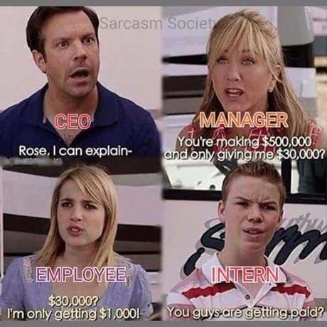 Perfect Scenario at work....