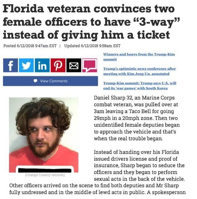 Florida Man finally gets a win!