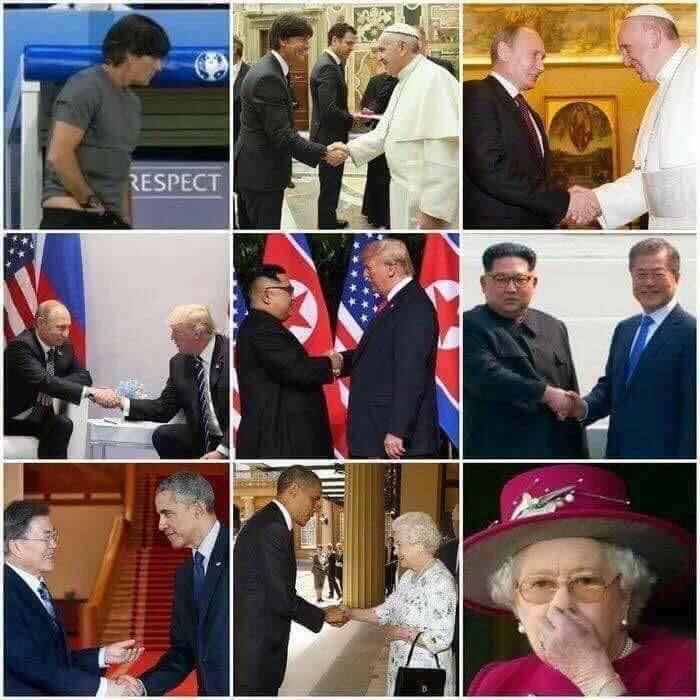 Nice handshake