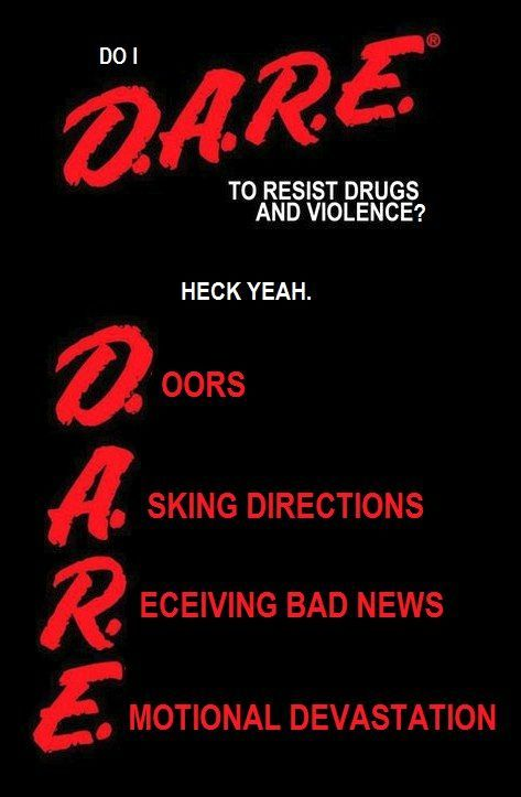 drugs are no joking matter