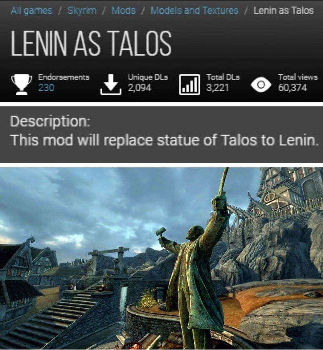 sykrim Communism Edition remastert 8k Hd