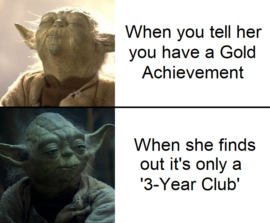 It's hard to get badges when you're an OC maker