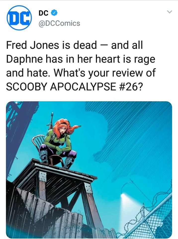 1) scooby doo is apparently owned by DC // 2) wtf