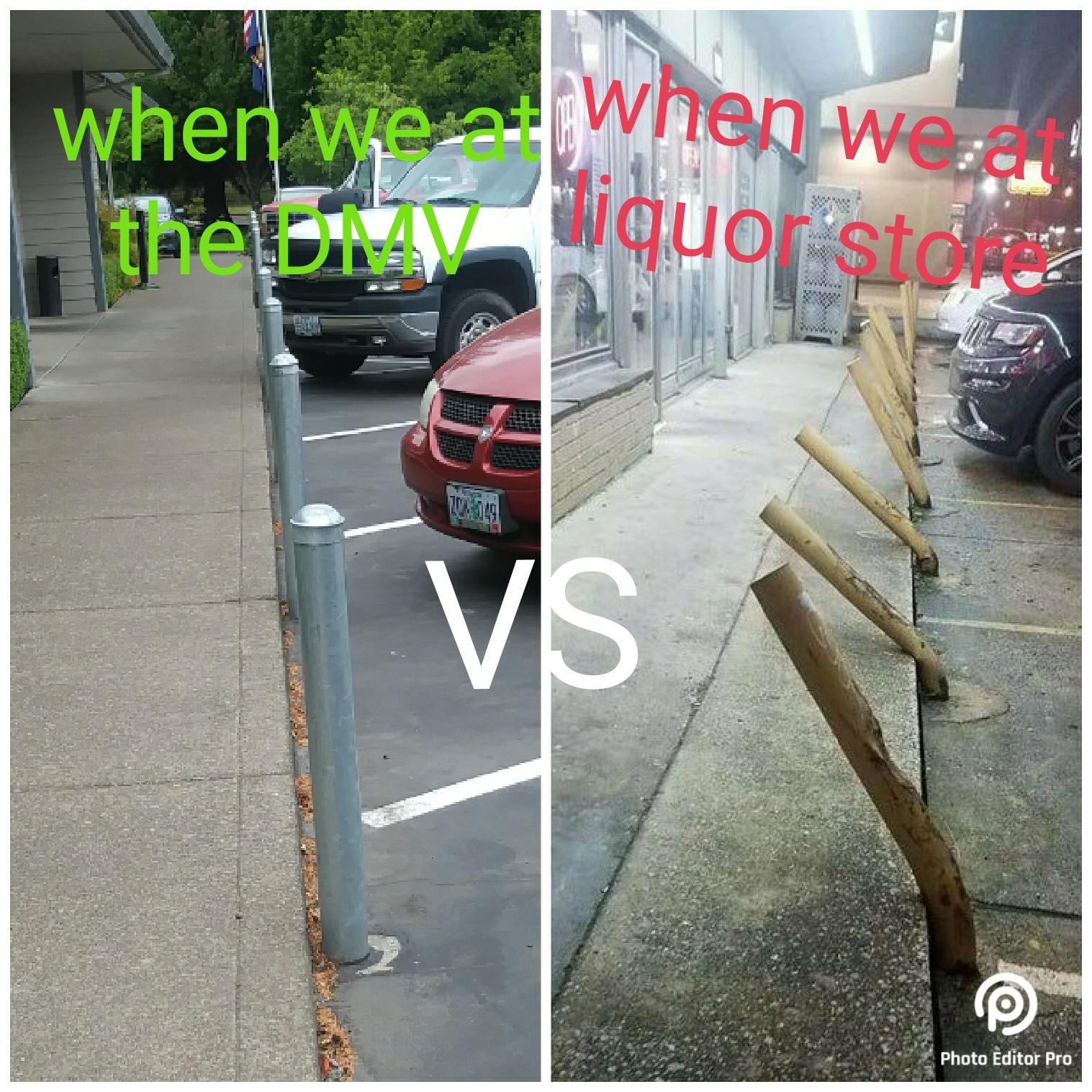 Was thinking at my local dmv