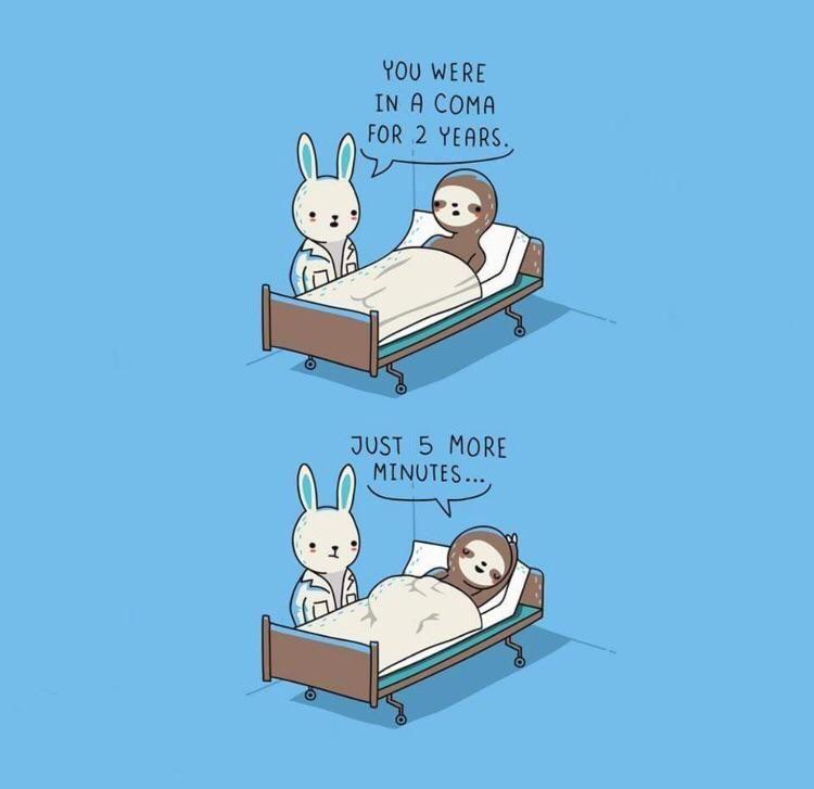 When sleep is life