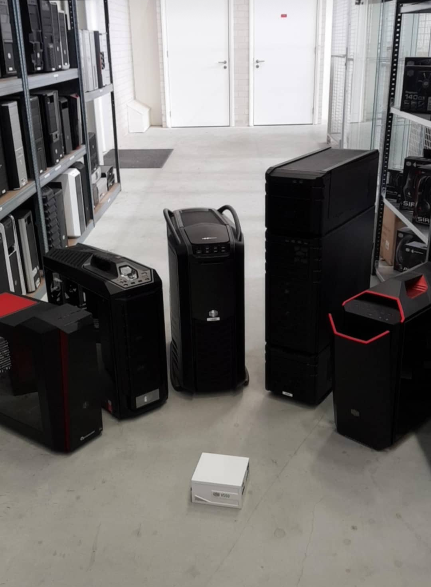 Cooler Master makes some really nice PC cases