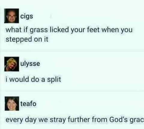 shit, i cant do splits