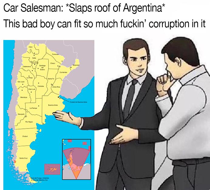 too many salesman