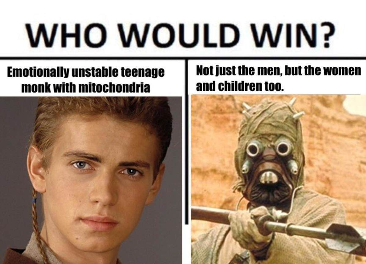 The midichlorians are the powerhouse of the cell.