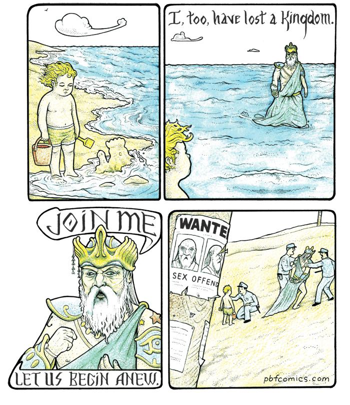 Poor Neptune...