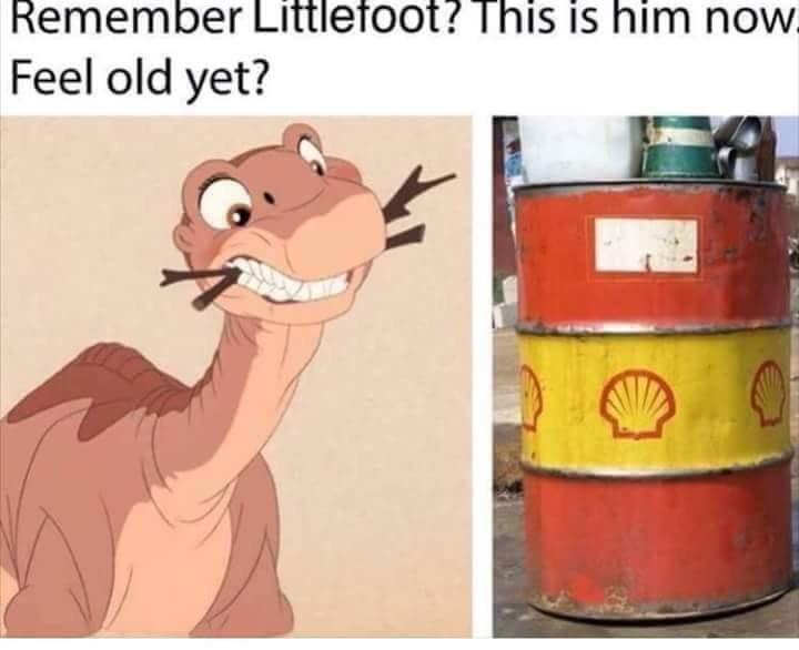 It was a land before time...
