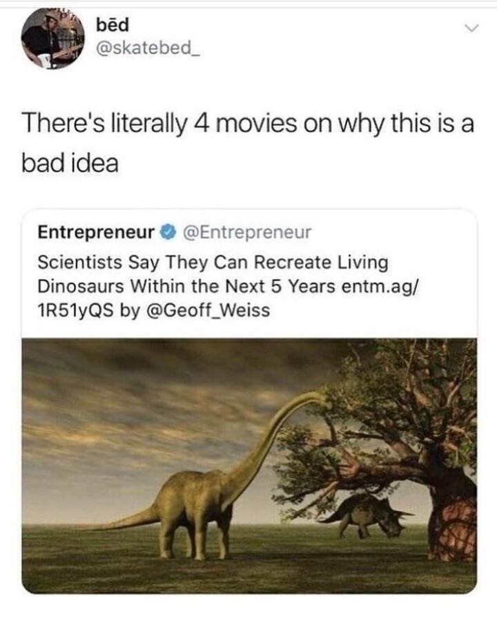 Not a bright idea
