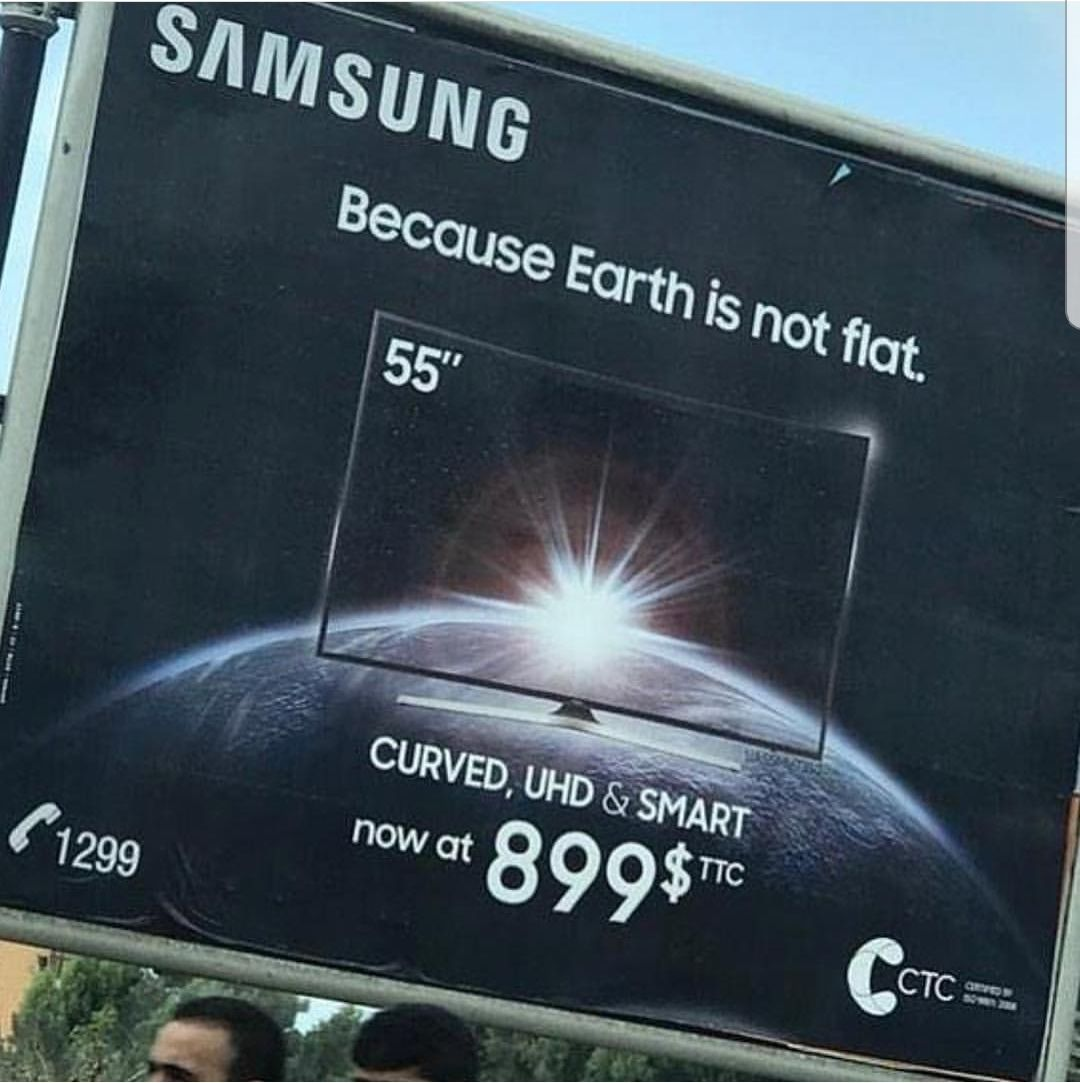 Flat earthers hate them.