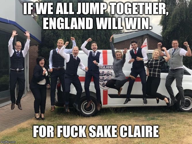 For F*ck Sake Claire!