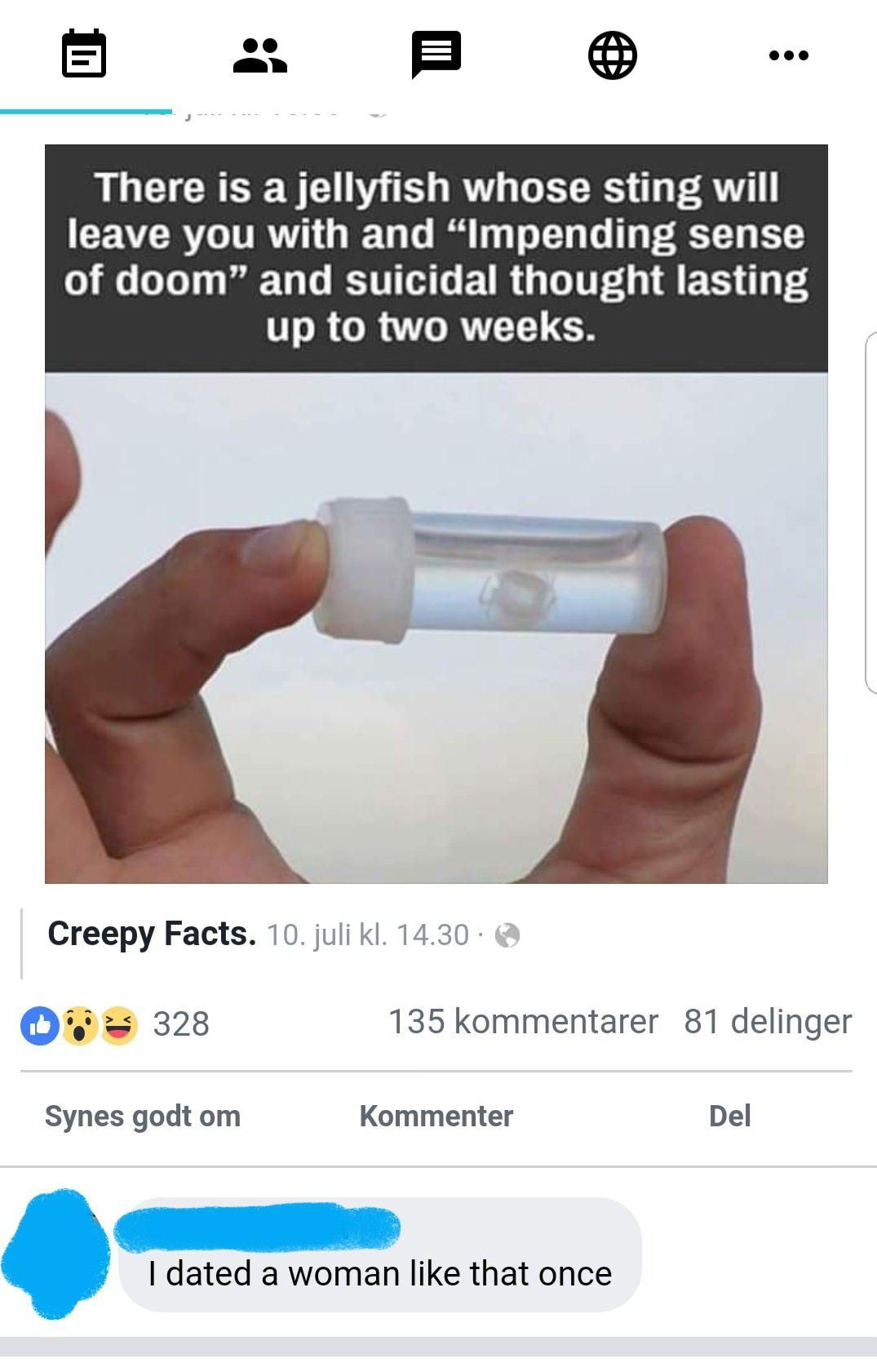 Facebook was quite savage today