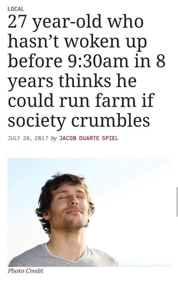 A true millennial visionary