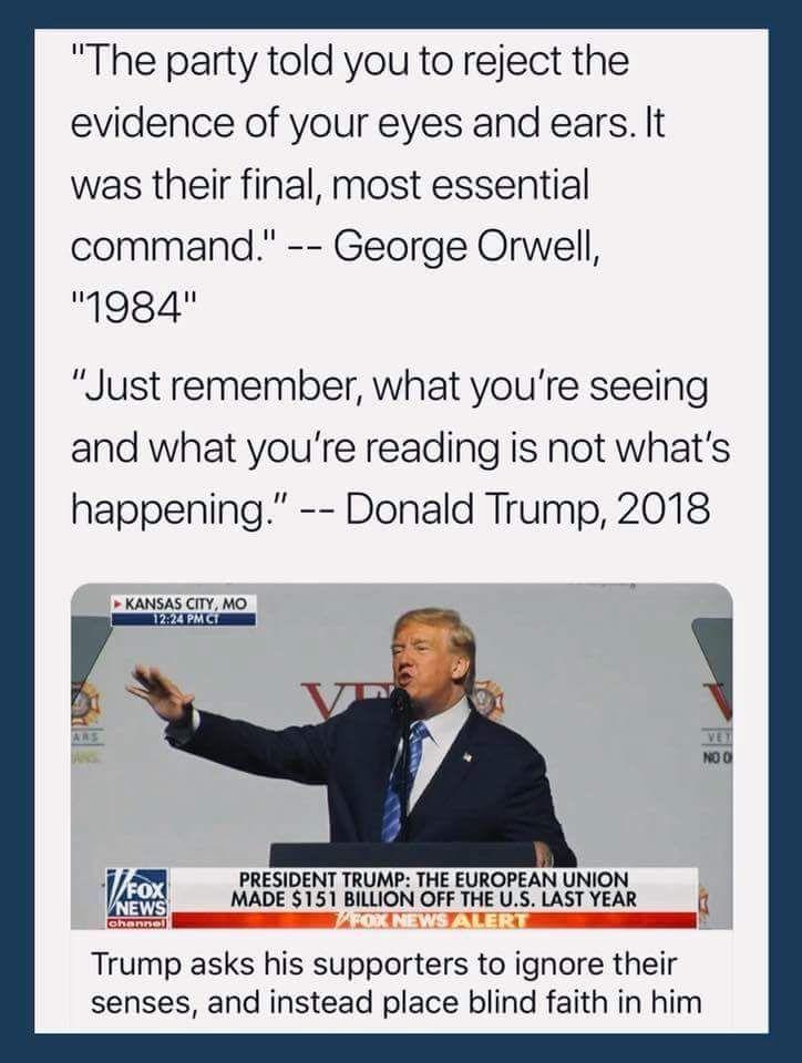 Orwell Trump