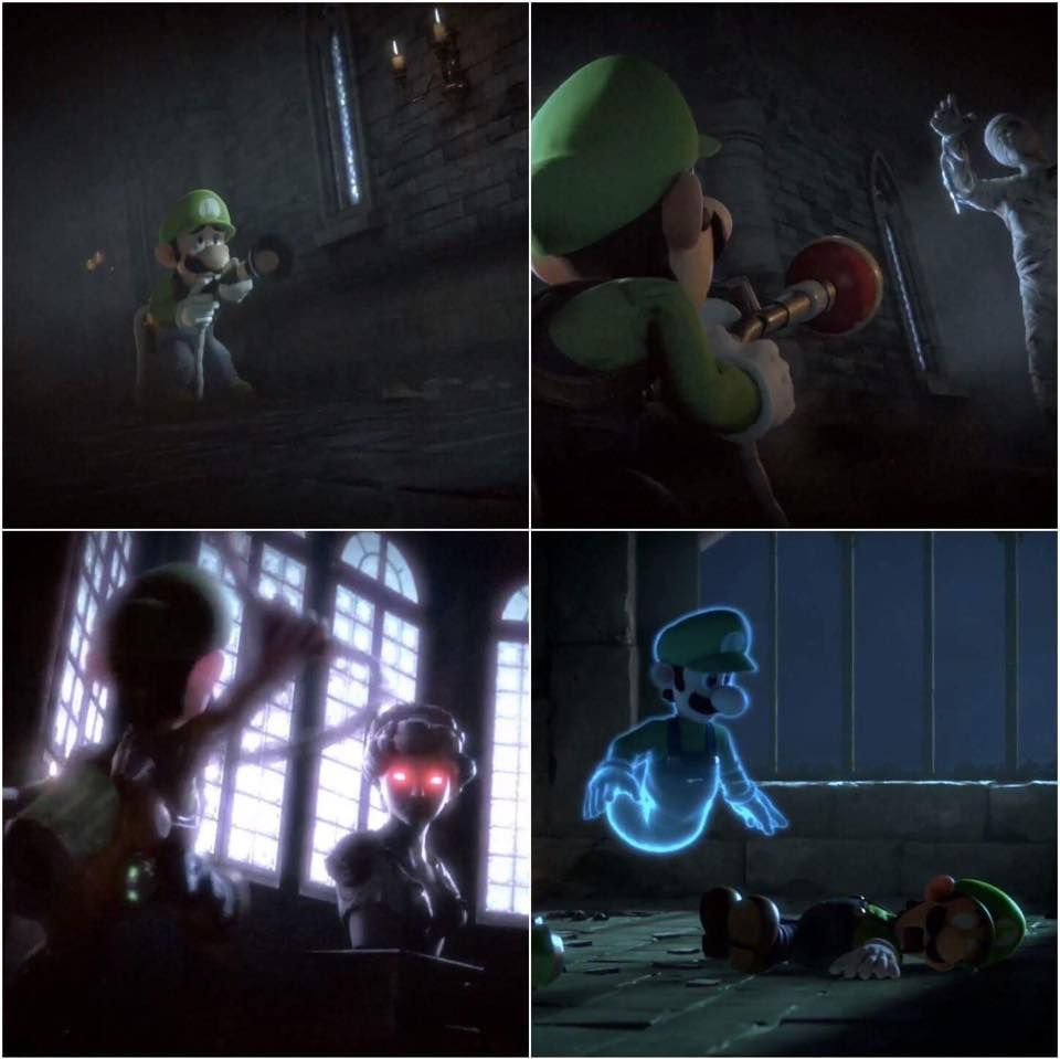 Mario is at a L.....