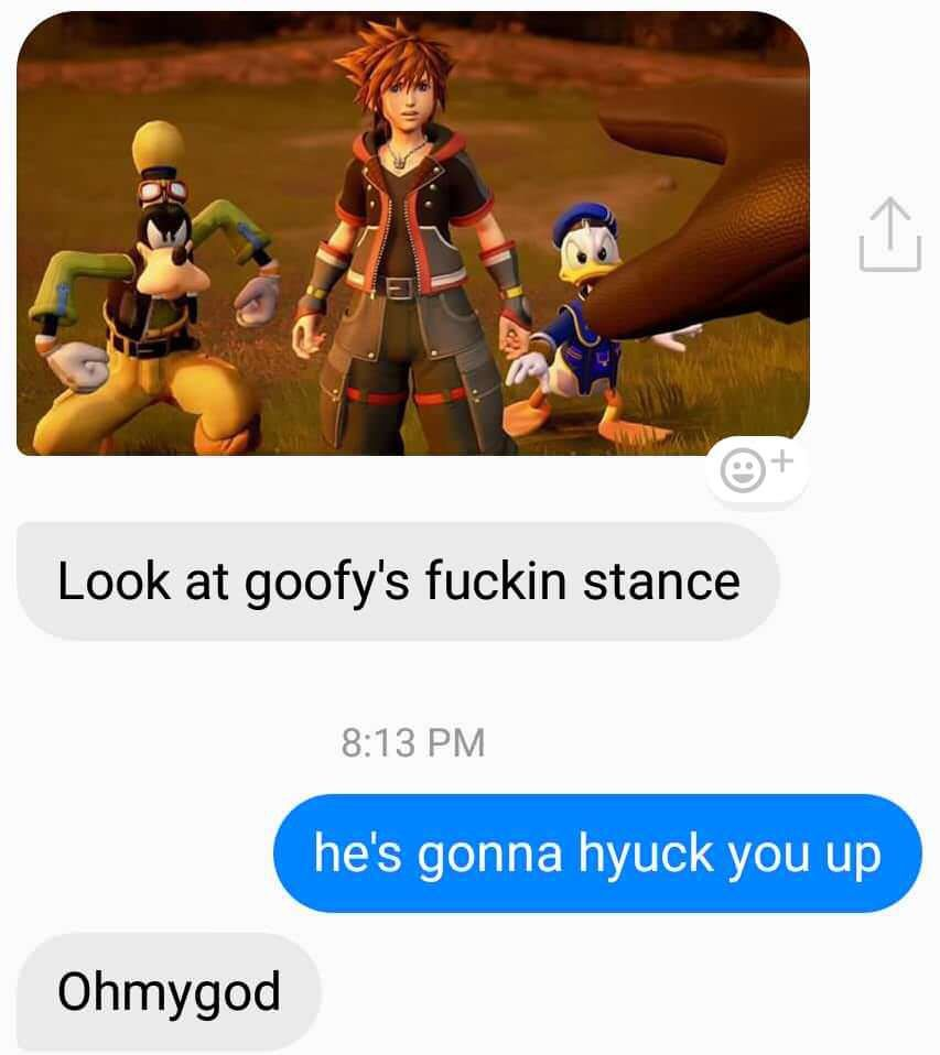 There is no preparing for the goofy