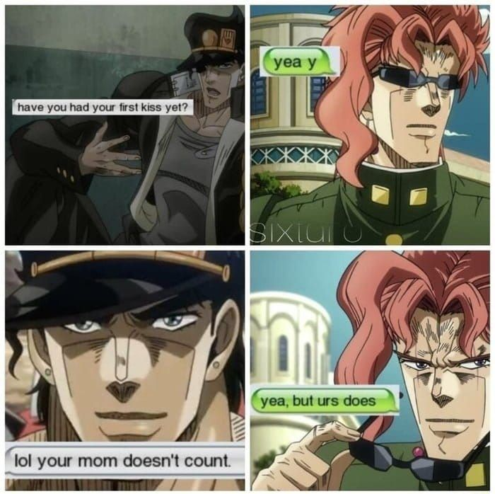 Your mom doesn't count