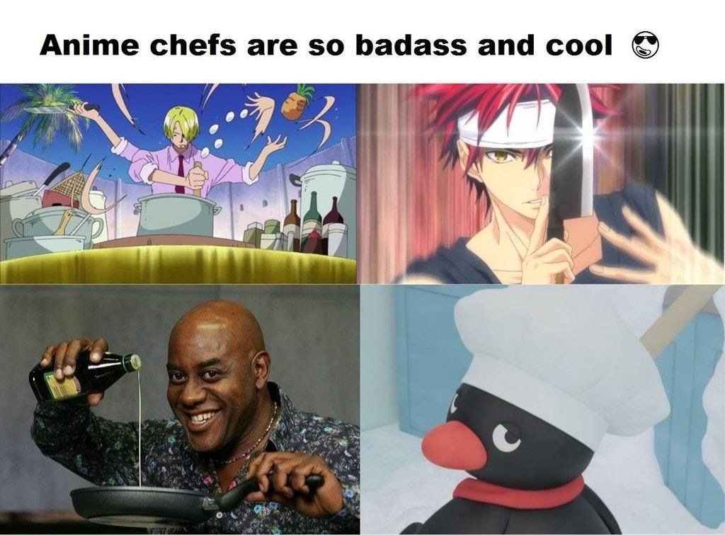 Anime chefs