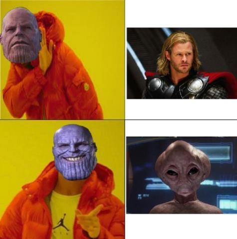 I said the REAL Thor