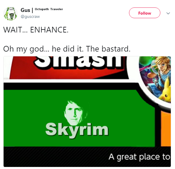 The new smash bros mode is!