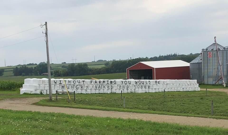 Hug a farmer
