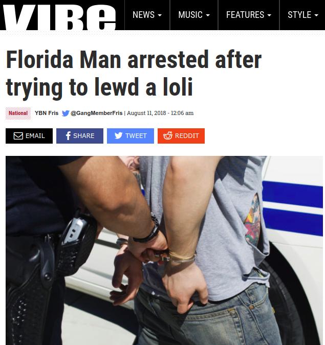 Florida Man knows no bounds