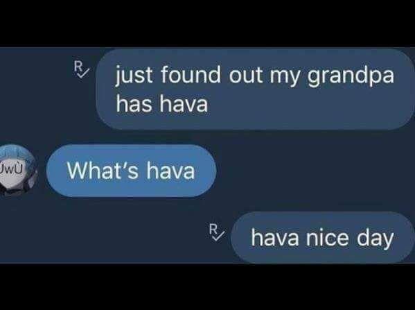 Wholesome ligma