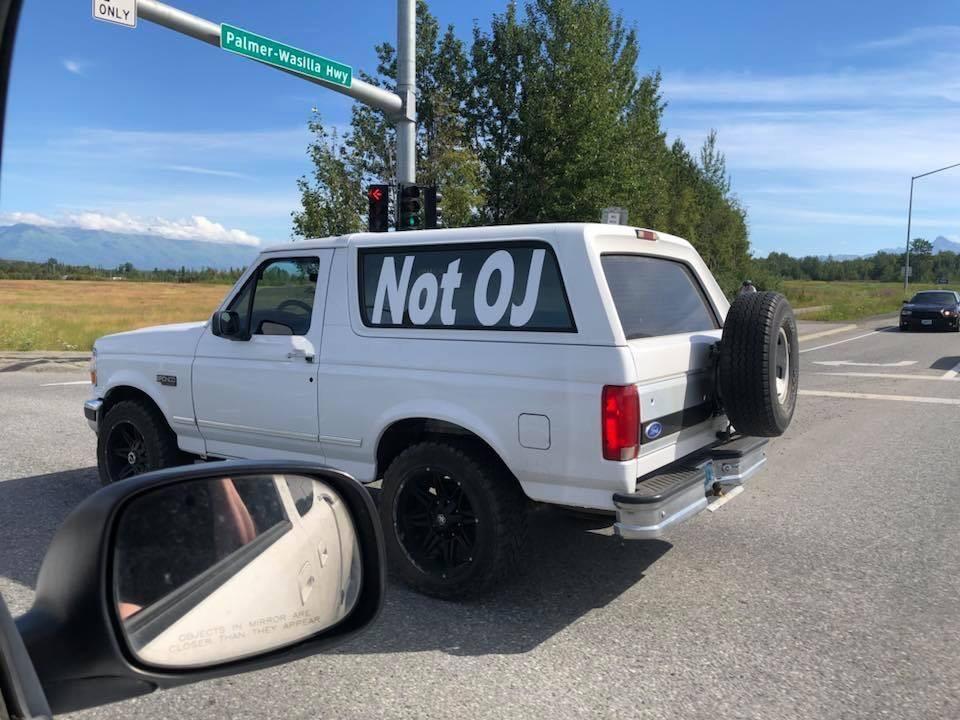 Spotted in Wasilla, Alaska