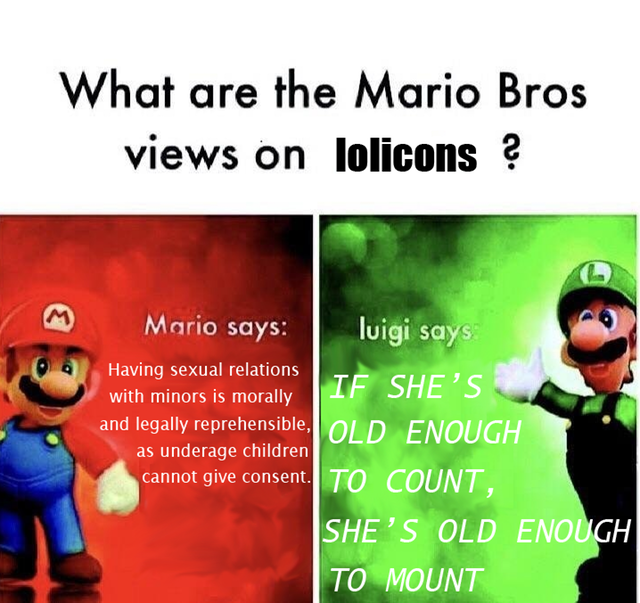 Wise words from Luigi