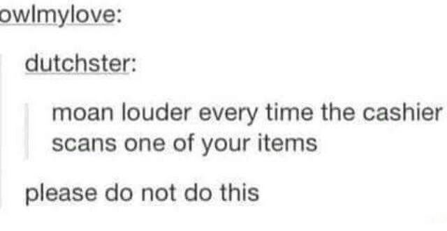 Please do this