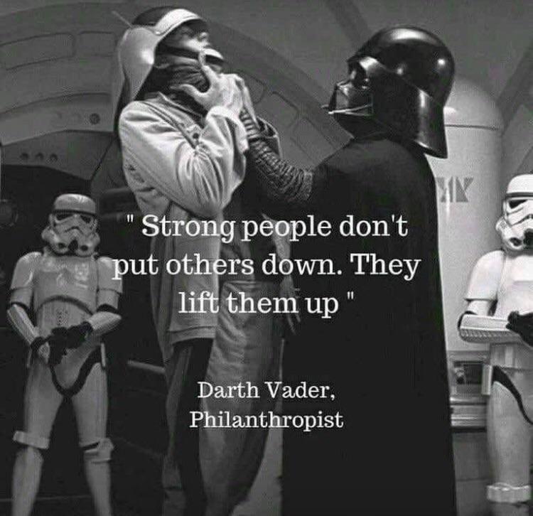 Darth Vader said the truth.