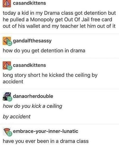 Just drama things