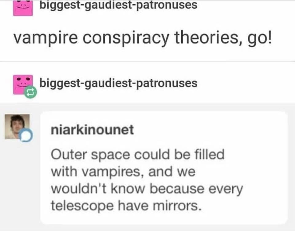 That's why space sucks