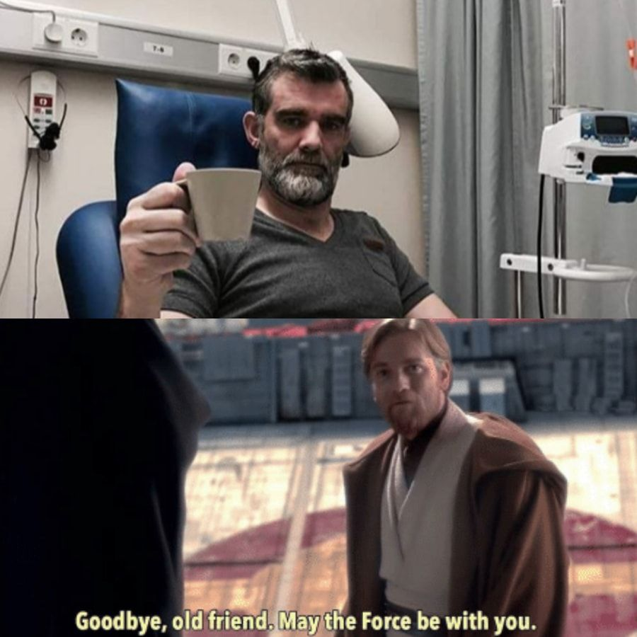 Star War meme for you. May the F be with you