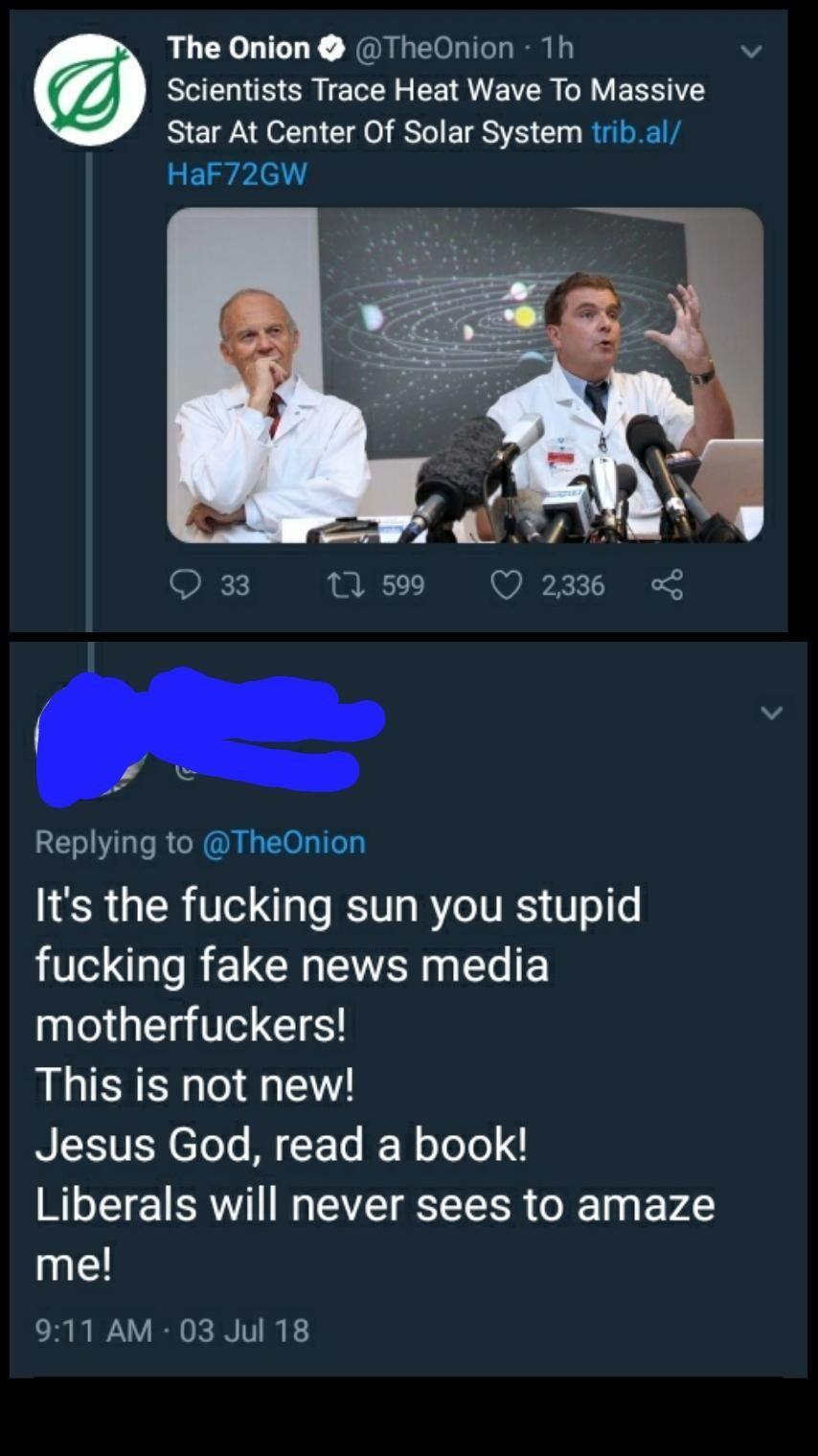 The ***ing sun