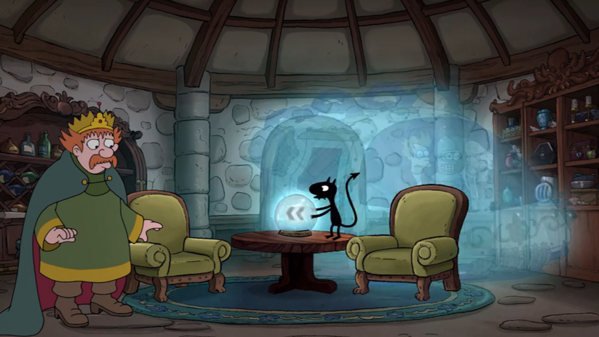 Found some familiar faces while watching the new show Disenchantment!