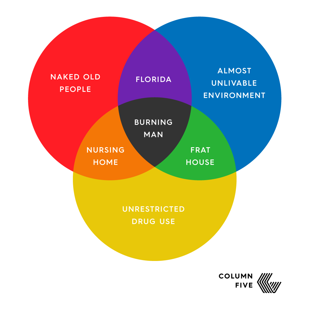 burning man venn diagram VIN Diagram