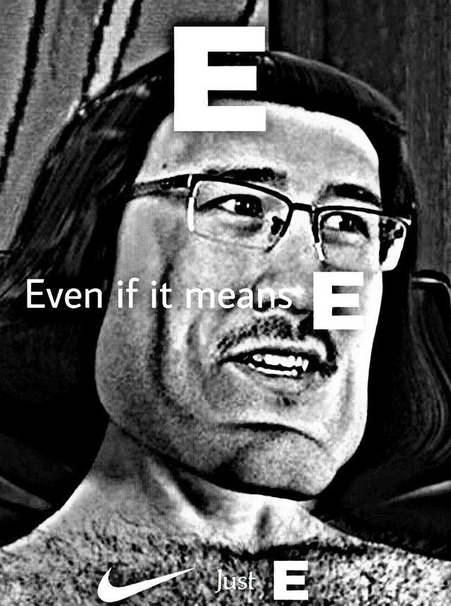 Just E