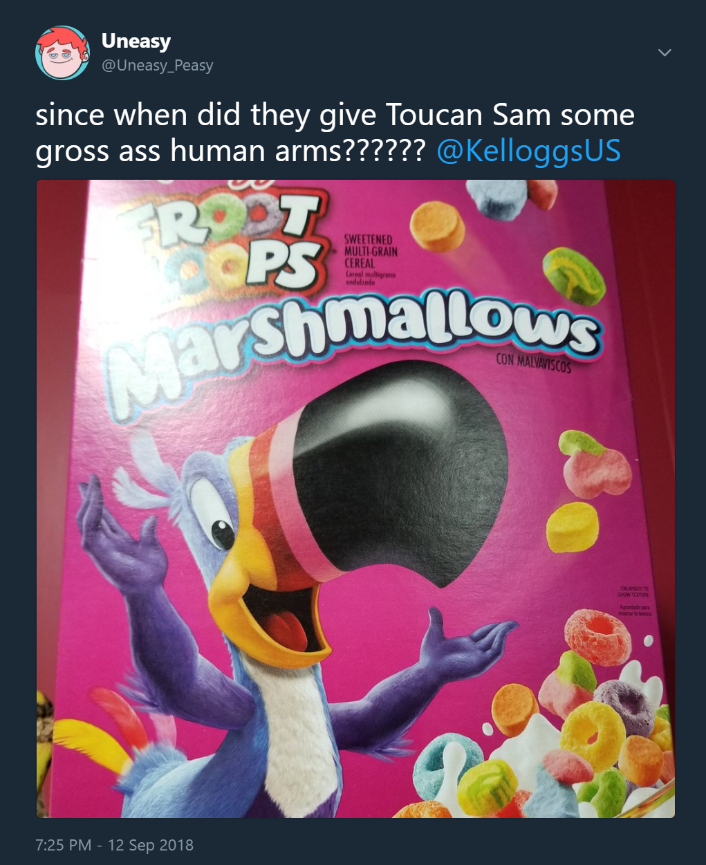 What Happened to Toucan Sam?!?!