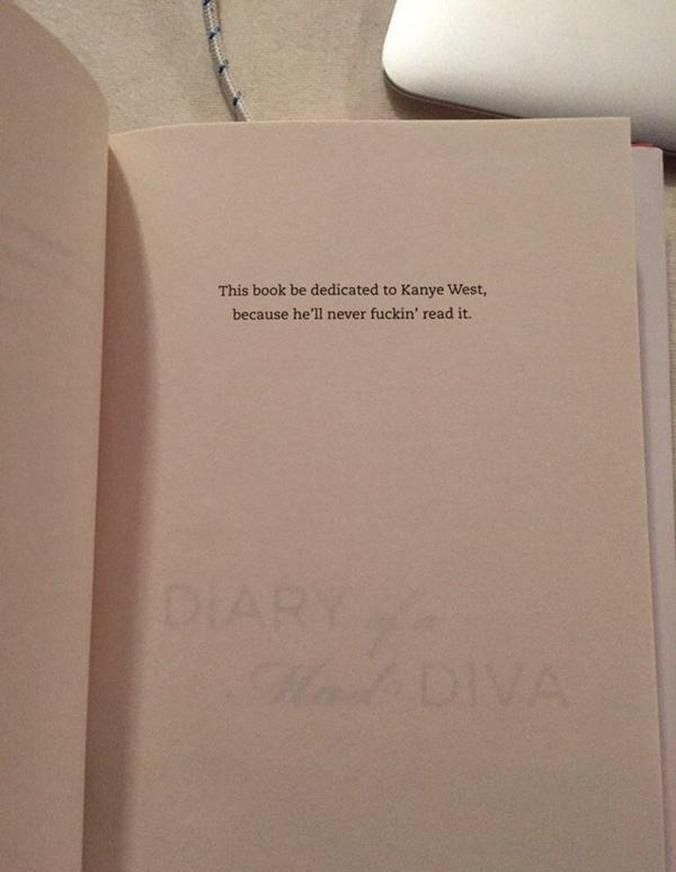 World's greatest book dedication