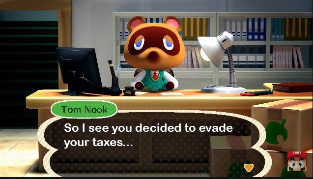Yoshi evaded taxes.