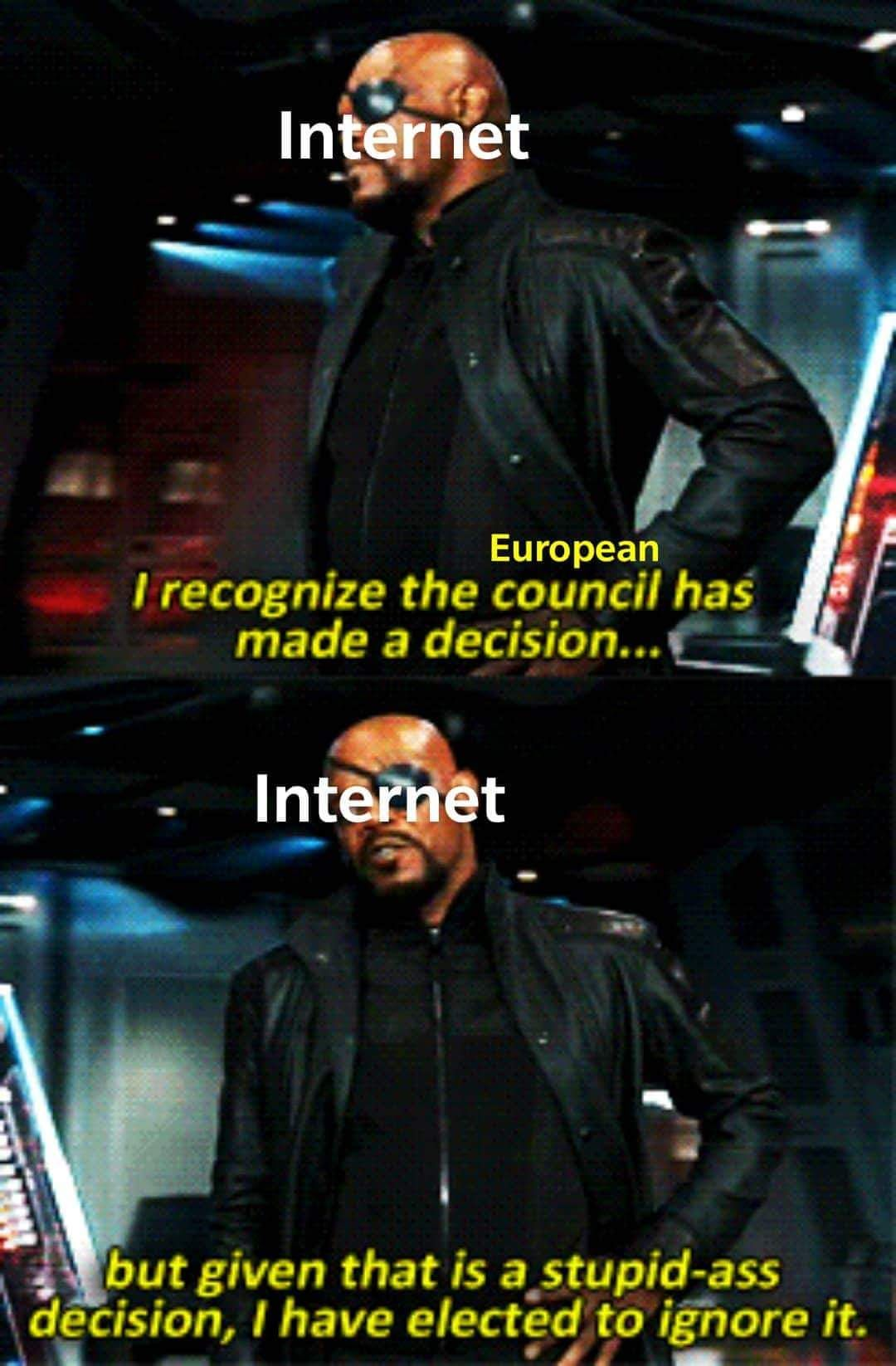 There's Fury over article 13